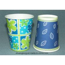8oz Taza de papel (taza fría) Taza de papel desechable Recubrimiento de PE