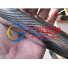SS wedge wire filter elements tube