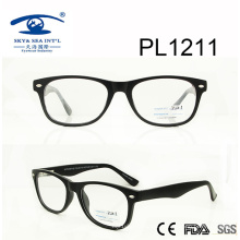 2017 New Design Hot Sale PC Optical Glasses (PL1211)