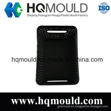 Caja de plástico de plástico Herramienta de inyección Molde de plástico de la cesta