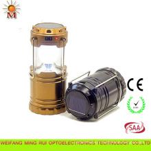 Lumières pliables de camp de lanterne solaire de conception moderne multi de fonction