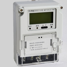 Front Panel Mounted Single Phase Credit Control Smart Meter