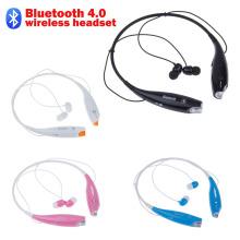 Hv 800 무선 블루투스 스테레오 음악 헤드셋 넥 밴드 이어폰 핸드폰