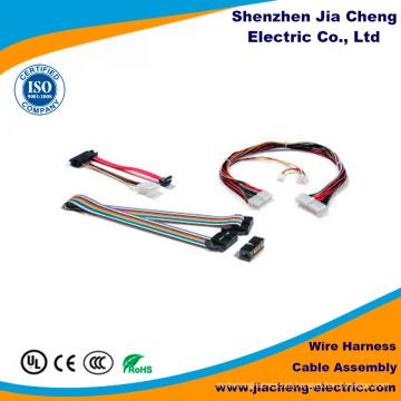 Montagem do cabo do plugue do conector do dispositivo da câmera com peças de alumínio
