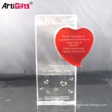 2012 красивый трофей кристалл подарки