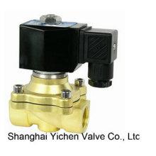 Válvula solenoide diferencial de presión cero de 2 vías de la serie de latón (YCZS)