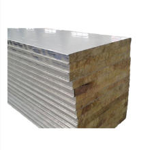 Eps Pu Rrockwool Aluminum-zinc Metal Sandwich Wall Panel