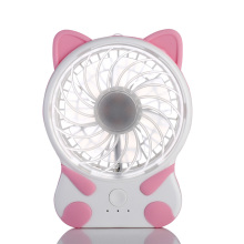 2018 Summer Cooling Fan USB Rechargeable Handheld Portable