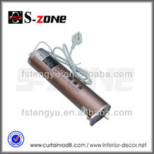 Double Open Wireless Automation Electric Curtain Motor Electric Curtain Motor / Remote Electric Curtain System