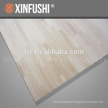 Chile pine finger joint board for Korea market