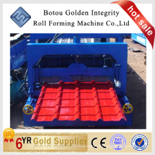 JCX glazed tile roof roll forming machine