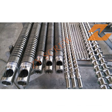 Single Screw and Barrel for Extrusion Machinery