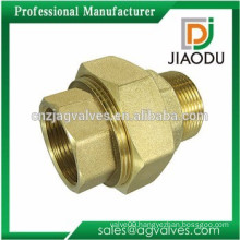china hot sale brass female or male plumbing fitting union