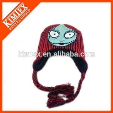 Baby knit hat free pattern free knit pattern for hat earflaps