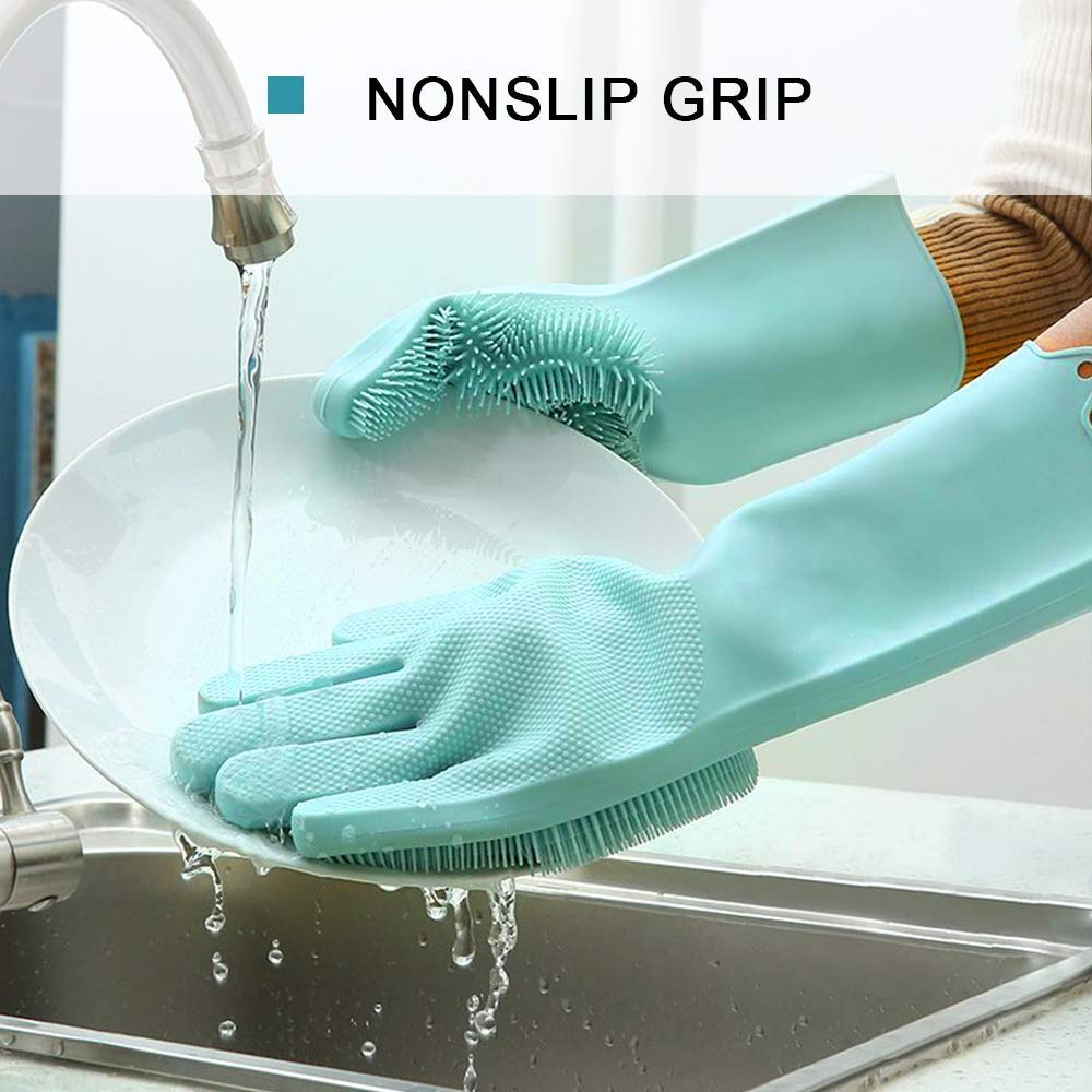 silicone dishwashing gloves