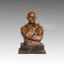 Busts Statue Small Picasso Bronze Sculpture, Milo TPE-810