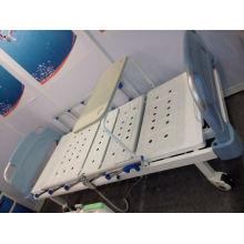 Nuevo Tipo Móvil de doble función Manual de cama de hospital