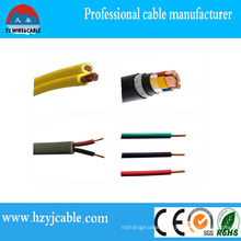 Low Voltage Wire PVC Sheath Cable for Electrical House Wire