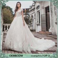 Vestidos de casamento de luxo vestidos de champanhe vestido de noiva vestido vestidos de renda pesada vestido de noiva vestido de noiva com trem catedral