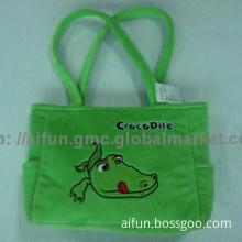 Crocodile pattern, Handbag plush material
