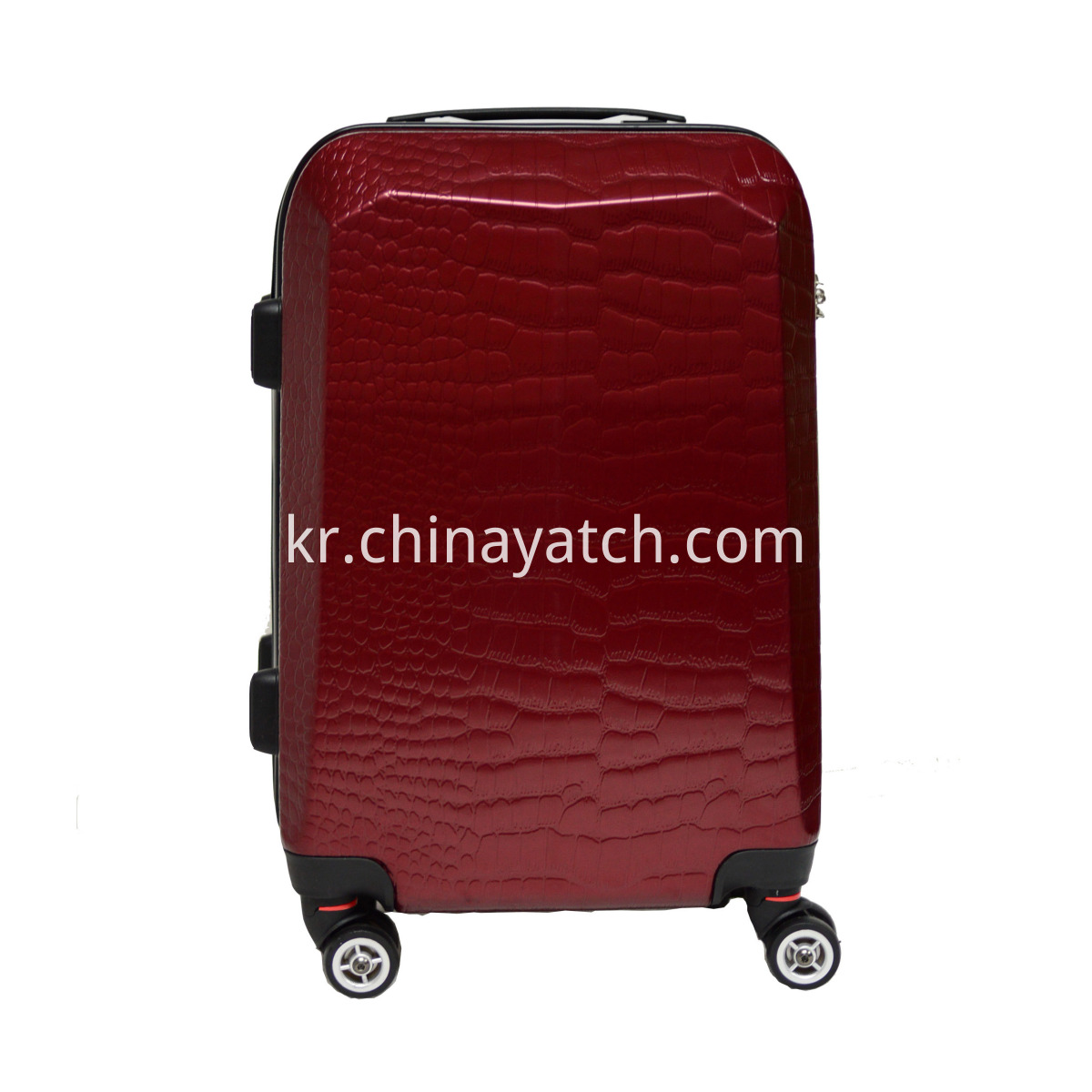 ABS Trolley Luggage With Fashion And Latest Croco Grain