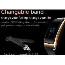 Smart Watch Android À Prova D 'Água Construído em USB Wechat Interconexão Monitor de Freqüência Cardíaca O Monitoramento do Sono do Bluetooth Super-Longa Standy