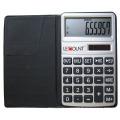 Calculadora de 10 dígitos con función Euro-Convertor y billetera negra (LC303EURO)