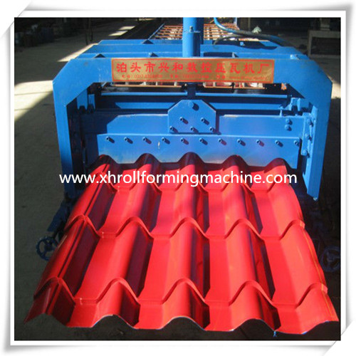 Glazed Tile Forming Machine Steel Tile Forming Machine Roof Tile Forming Machine