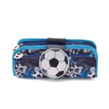 Hot Selling Soccer School Pencil Case Bag for Kids