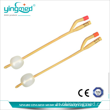 Disposabel Female 2-way Foley قسطرة
