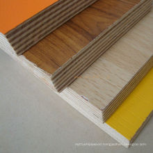 colourful melamine plywood board