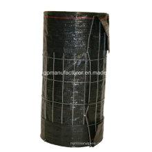 Geotêxtil tecido de cerca de seda com arame