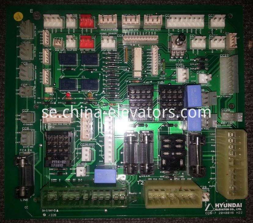CCB-3/CCB-7 Car Top PCB for Hyundai Elevators STVF-5 STVF-7