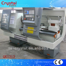 Types of cnc lathe machine pipe threading lathe QK1313