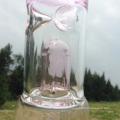 Autunm Pink New Design Glass Water Pipe for Hookah Smoking (ES-GB-250)