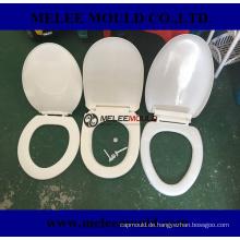 Kunststoff-WC-Sitzform mit Easy und Change-Scharnier