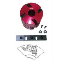 Red Aluminum Body Planing Cutter Head (ii) For Woodworking