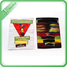 Accesorios de ropa personalizada de lujo Etiquetas de ropa tejida etiqueta