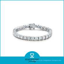 Bracelete da forma da prata 925 esterlina para o dia do Valentim (B-0009)