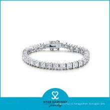 2016 Новый дизайн серебряных ювелирных изделий из серебра 925 пробы с серебром