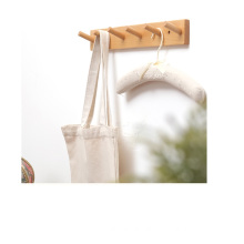 KINDOME Classic High Quality Beech Wood Wall Mount Clothes Hanger for Entrance Hallway