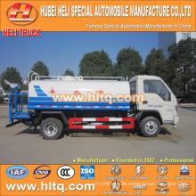 FOTON 4X2 3500L preiswerter Preis Wassertank LKW kleiner LKW preiswerter Preis ausgezeichnete Qualität