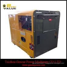 Générateur diesel 5HP refroidi à l'air du moteur 5HP