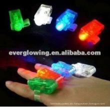 Lámpara de noche con anillo de dedo LED