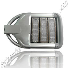 100w Led Solar Street Lights Ip65 With 400*280*121mm And 45 Mil Bridgelux Led Chips