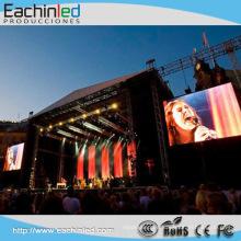 Pantalla LED delgada al aire libre P8, pantalla de video LED al aire libre, pantalla de video exterior xxx