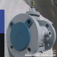 Lever Cast Steel RF Flanged Sleeved Plug Valve