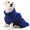 Хлопковый халат для животных из микрофибры с абсорбирующим поясом