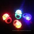 LED Flashing Jelly Bumpy Rings