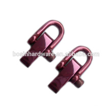 Fashion High Quality Metal Polished Red Stainless Steel Shackle